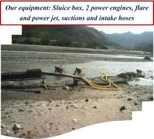 Equipment on the river II