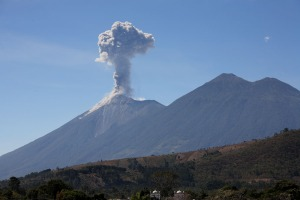 Fuego and Acatenango Volcanoes